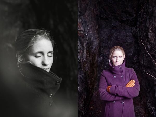 Katarina Riml, Alademikern, portrait, black&white